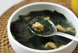 Canh ngao rong biển bổ dưỡng cho khẩu phần ăn
