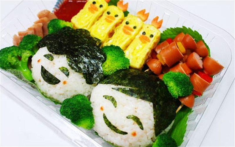 Cơm Rong Biển Bento - Green Seaweed