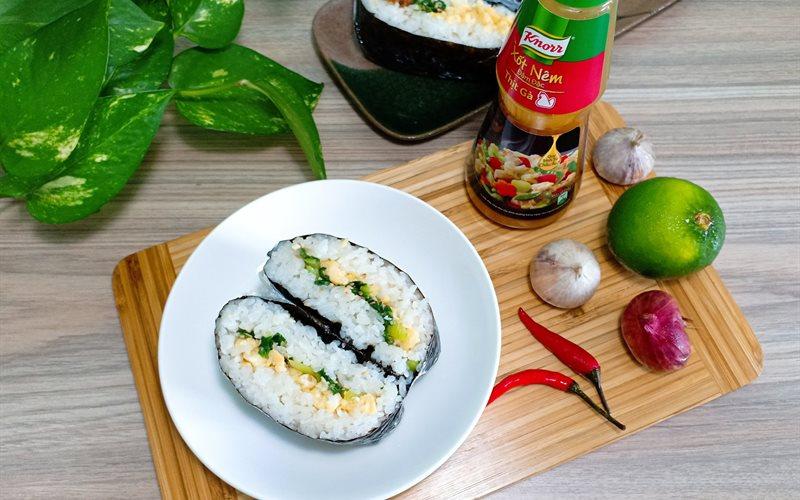 Rice Sandwich - Cơm nắm - Green Seaweed