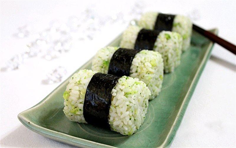 Cơm nắm xanh lá cây - Green Seaweed