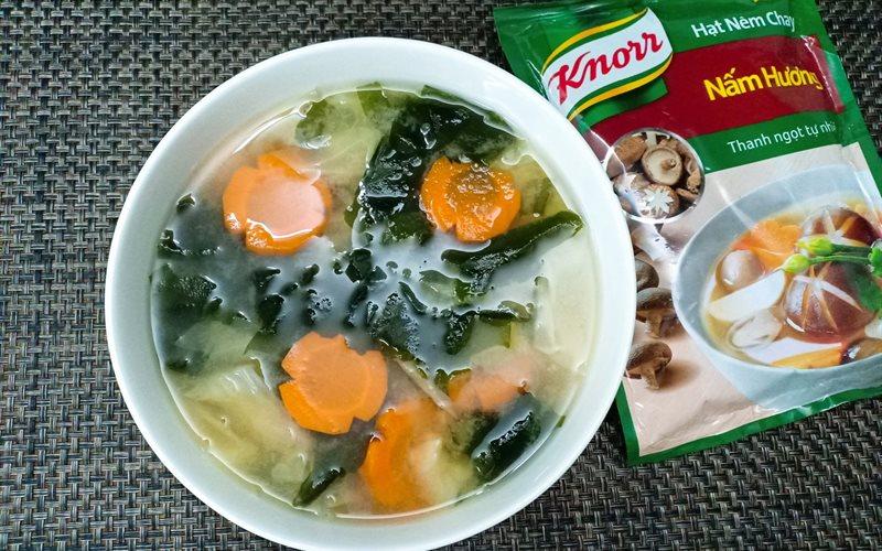 Canh Miso bắp cải - Green Seaweed